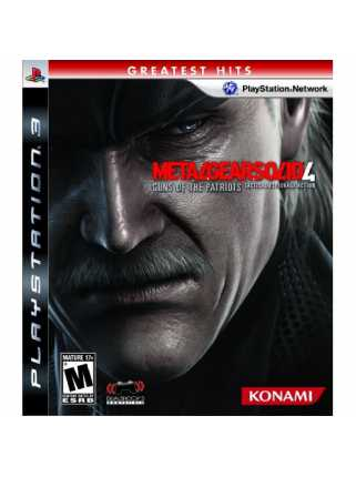Metal Gear Solid 4: Guns of the Patriots (USED) [PS3]