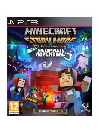 Minecraft: Story Mode - The Complete Adventure [PS3]