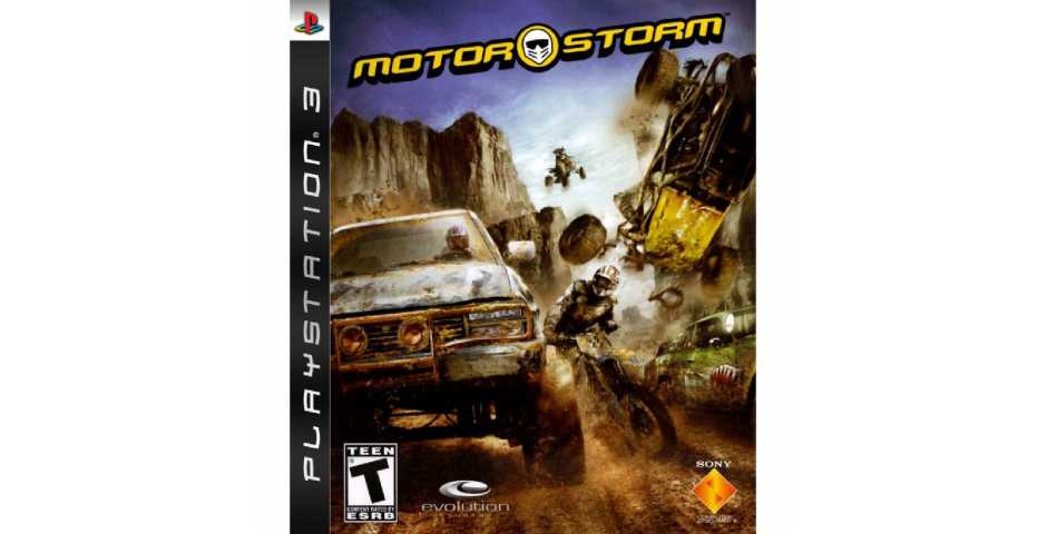 MotorStorm (USED) [PS3]