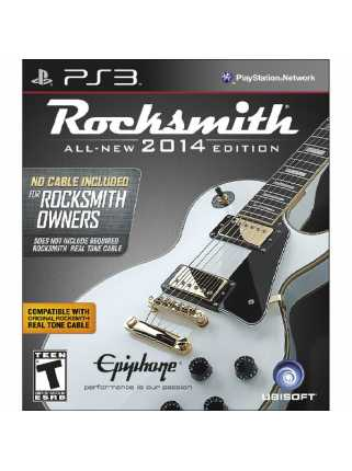 Rocksmith 2014 Edition (USED) [PS3]