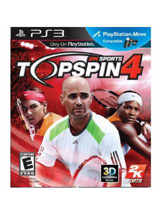 Top Spin 4 (USED) [PS3]