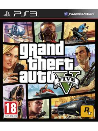 GTA 5 (Grand Theft Auto V) [PS3]