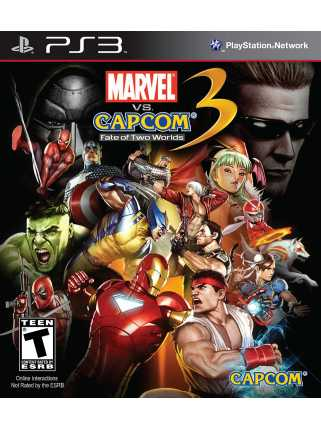 Marvel vs. Capcom 3: Fate of Two Worlds [PS3]
