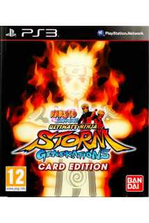 Naruto Shippuden: Ultimate Ninja Storm Generations (Card Edition) [PS3]