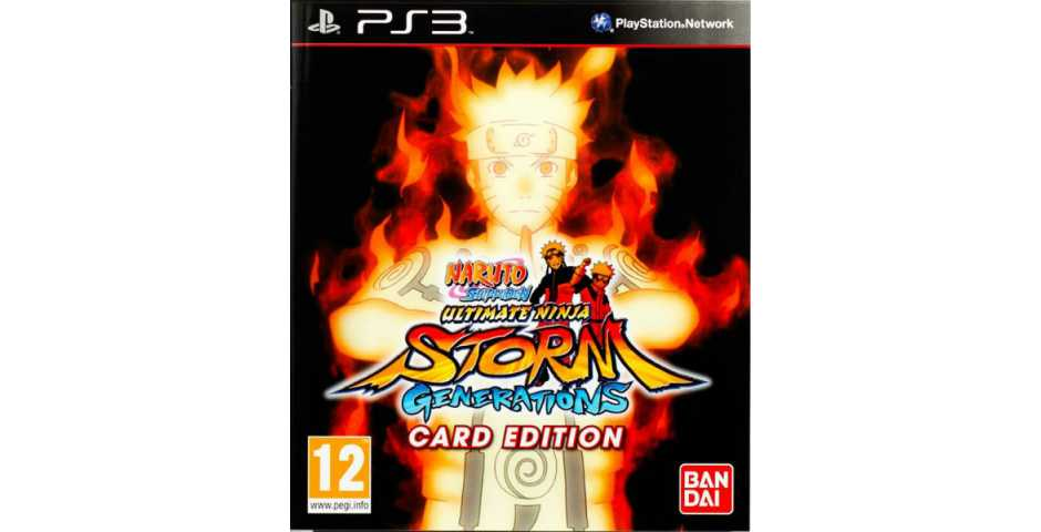 Naruto Shippuden: Ultimate Ninja Storm Generations (Card Edition) [PS3]