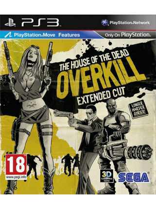 The House of the Dead: Overkill - Extended Cut [PS3]