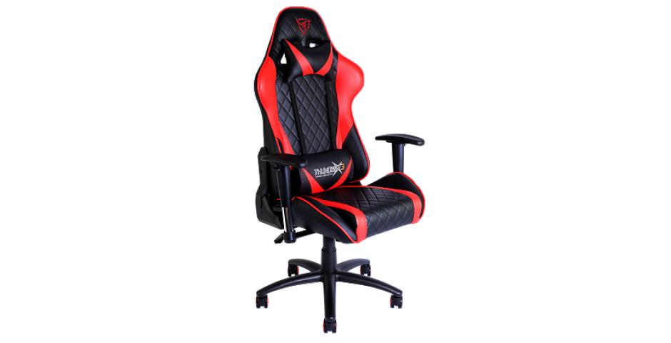 Игровое кресло ThunderX3 TGC15 (красно-черное)
