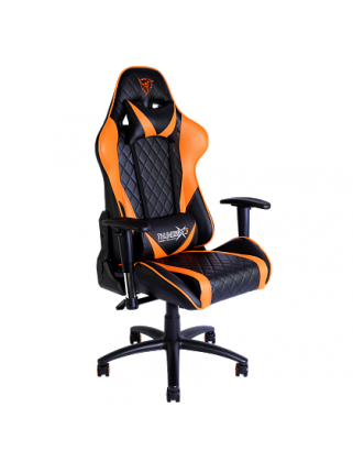 Игровое кресло ThunderX3 TGC15 (оранжево-черное)