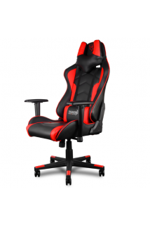 Игровое кресло ThunderX3 TGC22 (красно-черное)