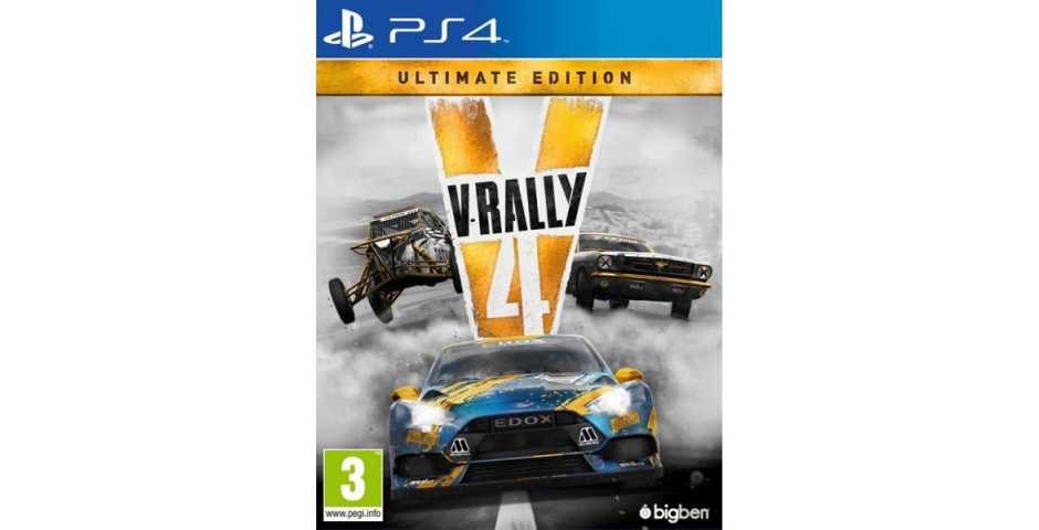 V-Rally 4 Ultimate Edition [PS4, русские субтитры]