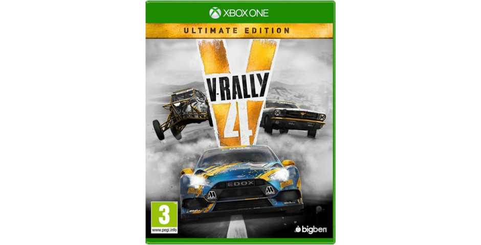 V-Rally 4 Ultimate Edition [Xbox One, русские субтитры]