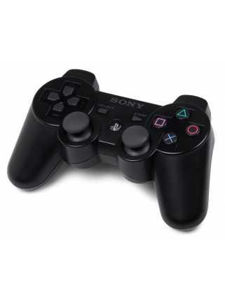 Джойстик беспроводной Wireless Controller (Черный) [PS3] + ИГРА В ПОДАРОК!