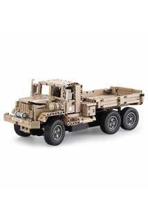 Конструктор на радиоуправлении CaDa военный грузовик
