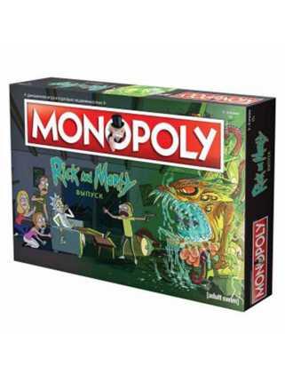 """Настольная игра """"Монополия. Рик и Морти"""""""