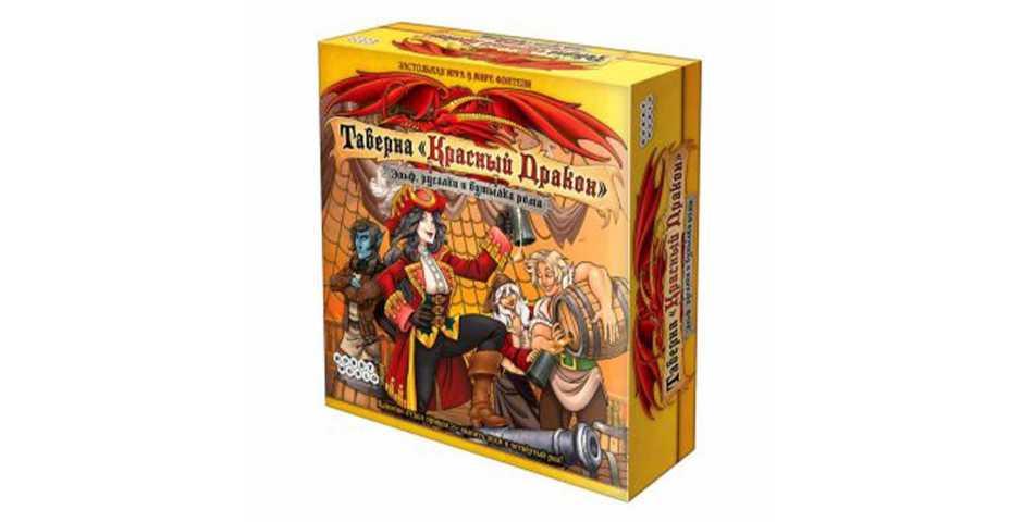 Настольная игра Таверна Красный Дракон: Эльф, русалки и бутылка рома
