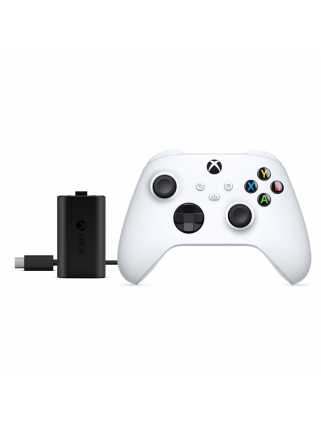 Геймпад Xbox Series (Robot White) + Play and Charge Kit [Xbox Series]