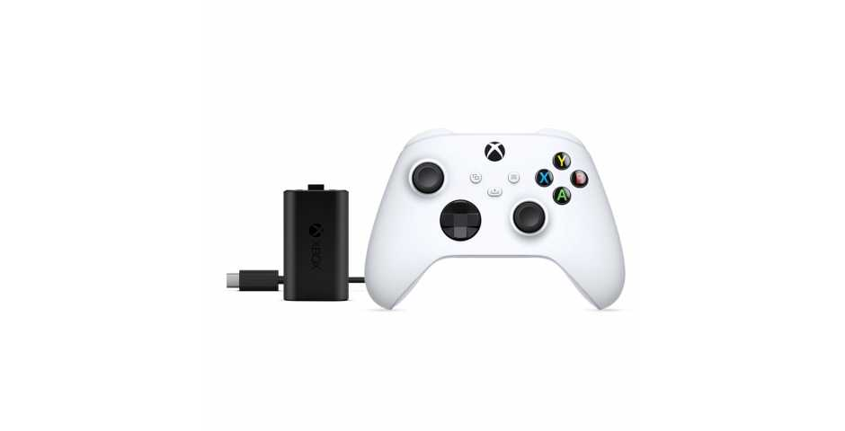 Геймпад Xbox Series (Robot White) + Play and Charge Kit [Xbox Series]