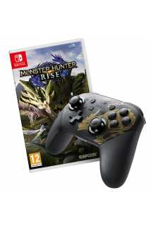 Monster Hunter Rise + Pro Controller - Monster Hunter Rise Edition [Switch]