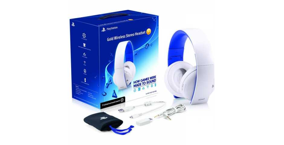 Гарнитура Sony Wireless Stereo Headset 2.0 (White)