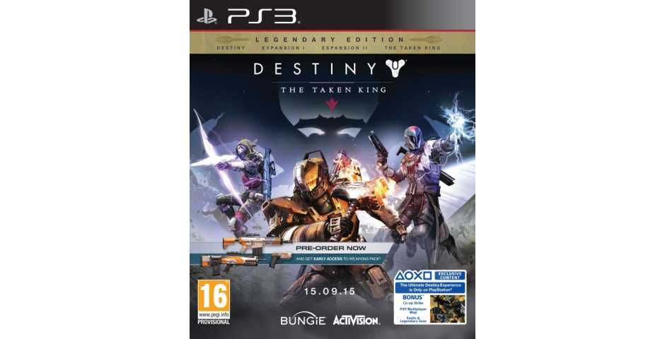 Destiny - The Taken King Legendary Edition [PS3]