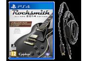 Rocksmith 2014 (Игра + Кабель для подсоединения гитары) [PS4]