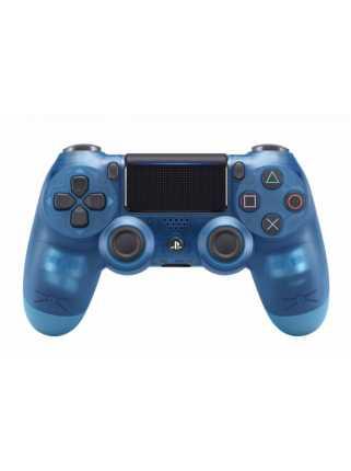 Беспроводной контроллер DUALSHOCK 4 Blue Crystal V2