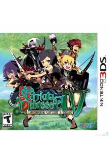 Etrian Odyssey IV (4): Legends of the Titan [3DS]
