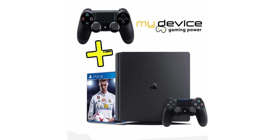 Sony PlayStation - Sony Playstation 4 Slim Fifa 18 Bundle (500Гб, черная)