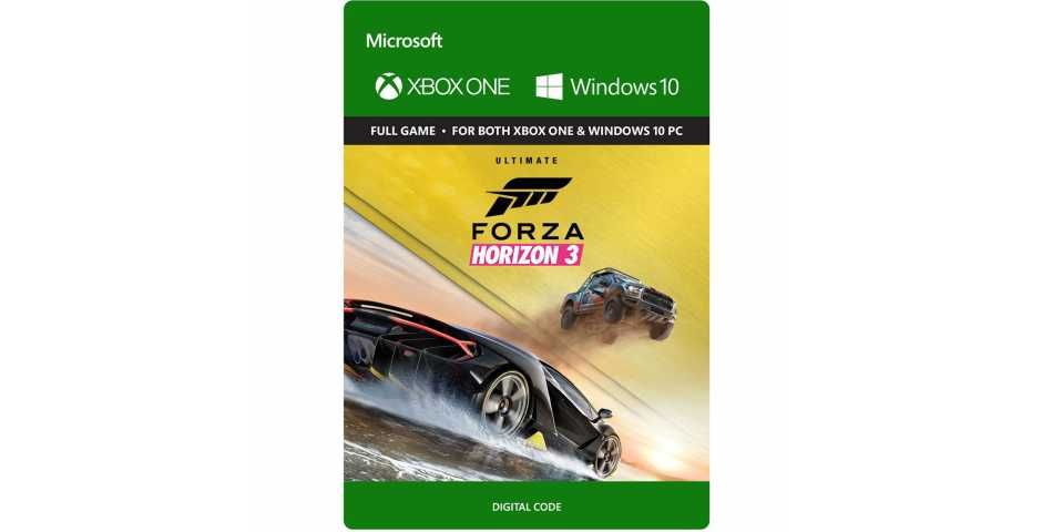 Microsoft Xbox - Forza Horizon 3 (КОД) [Xone+Windows 10, русская версия]