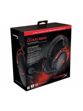 Гарнитура HyperX Cloud Alpha