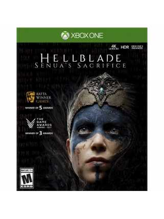 Hellblade: Senua's Sacrifice Retail Edition [Xbox One, русская версия]