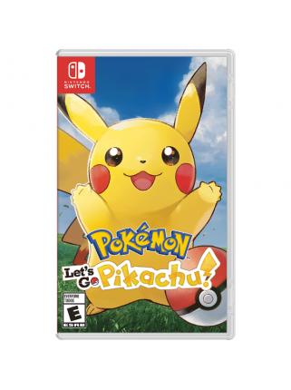 Pokemon: Let's Go, Pikachu! [Switch] Предзаказ!