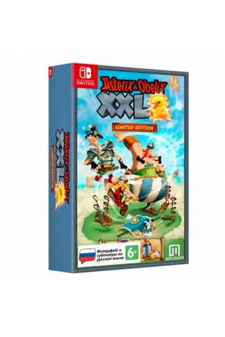 Asterix and Obelix XXL2 Limited Edition [Switch, русские субтитры]