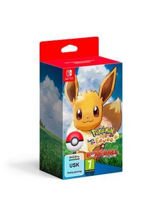 Pokemon: Let's Go, Eevee! + Poke Ball Plus Pack  [Switch] Предзаказ!
