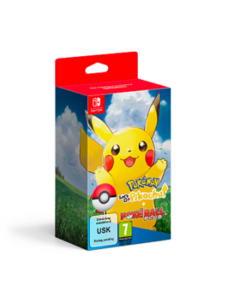 Pokemon: Let's Go, Pikachu! + Poke Ball Plus Pack [Switch] Предзаказ!