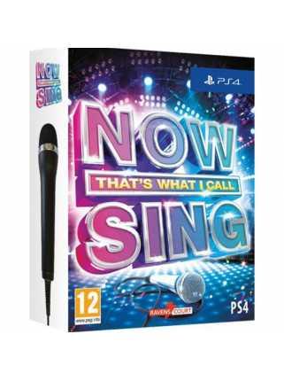 Now Sing 2017 1x микрофон [PS4, английская версия]