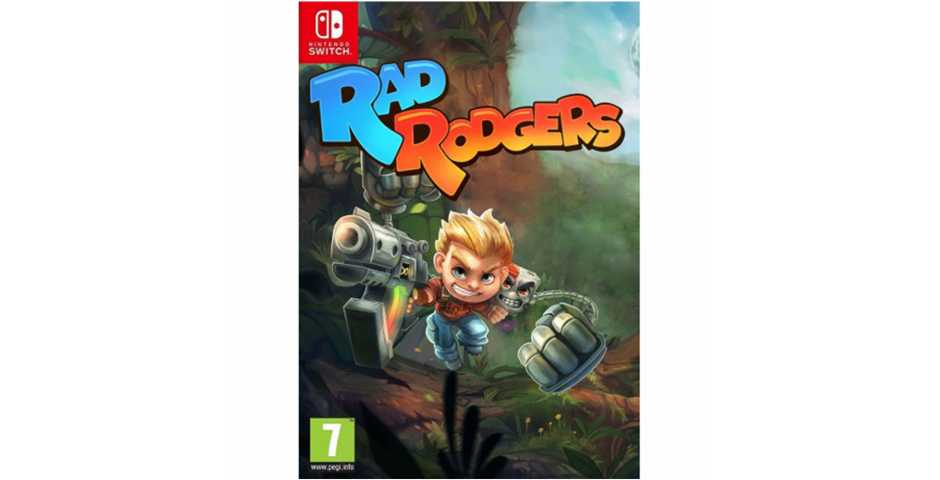 Rad Rodgers: World One [Switch, русская версия]