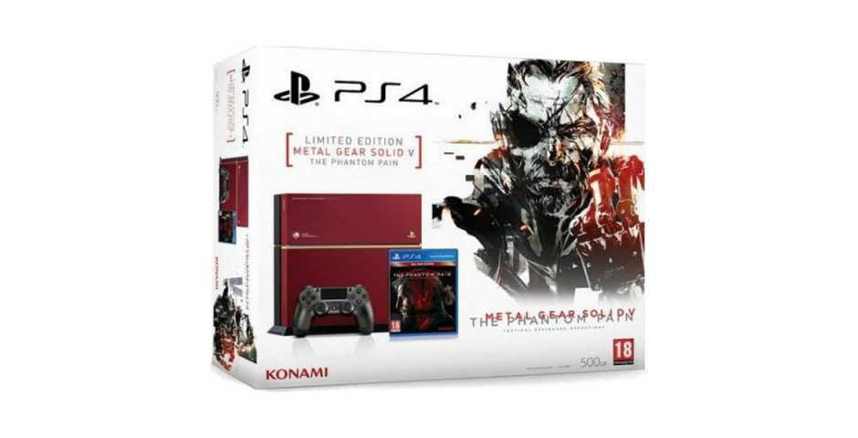 Sony PlayStation 4 500GB Metal Gear Solid V: The Phantom Pain Limited Edition