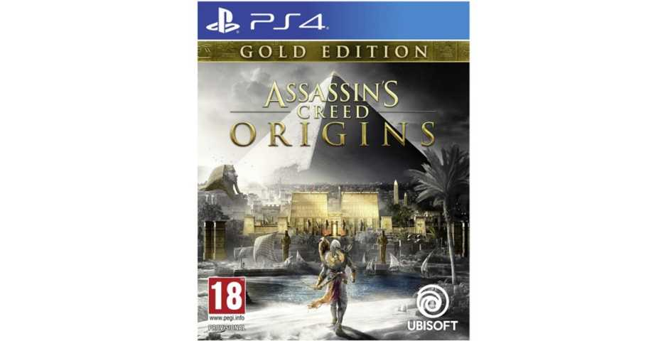 Assassin's Creed: Истоки (Origins) Gold Edition [PS4]