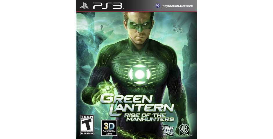 Green Lantern: Rise of the Manhunters [PS3]