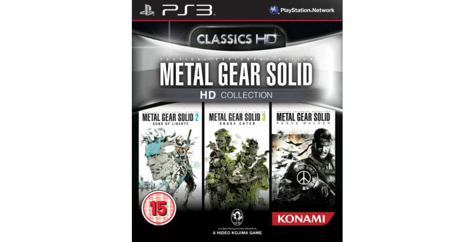 Metal Gear Solid: HD Collection [PS3]