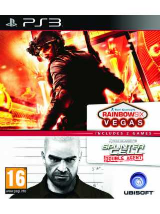 Tom Clancy's Rainbow Six Vegas + Splinter Cell Double Agent [PS3]