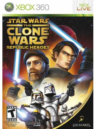 Star Wars The Clone Wars: Republic Heroes [XBOX 360]