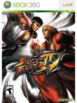 Street Fighter IV [XBOX 360]