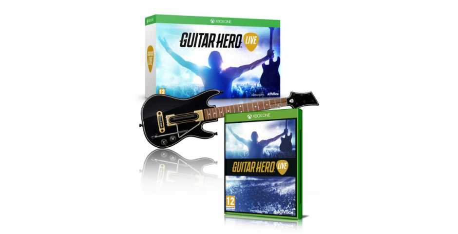 Guitar Hero Live Bundle (Гитара + Игра)
