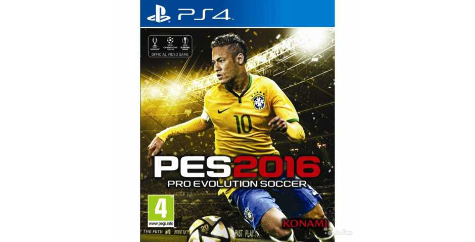 PES 2016 ( Pro Evolution Soccer 2016 ) [PS4]