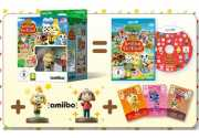 Комплект игра Animal Crossing amiibo Festival + 2 amiibo + 3 карты [WiiU]