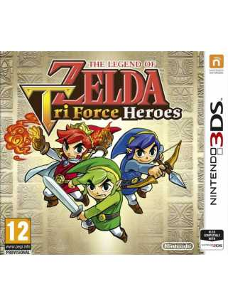 The Legend of Zelda: Tri Force Heroes [3DS]