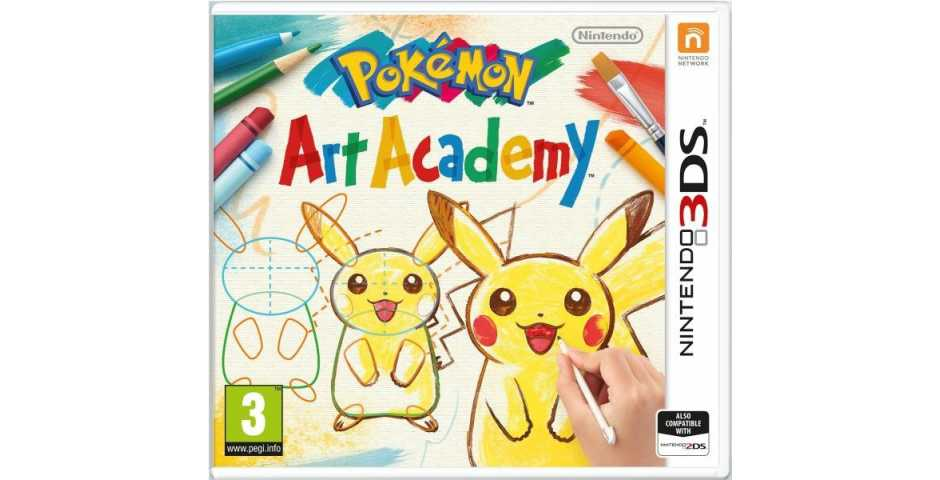Pokemon Art Academy [3DS]