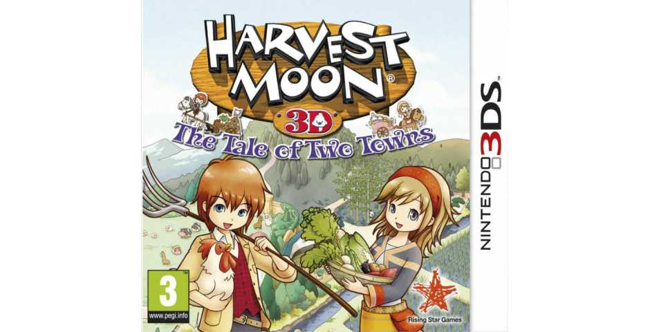 Harvest Moon A Tale of Two Towns [3DS]